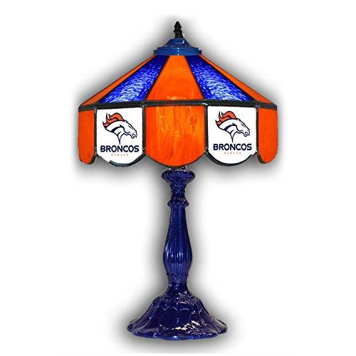 (Denver Broncos 21 Glass Table Lamp)