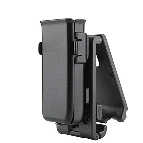 Universal Single Pistol (Cytac Tactical Single Magazine Pouch, Universal Mag Holder with Belt Clip Fits Glock Ruger Sig Sauer Kahr Beretta 1911 Most Pistol Magazines)