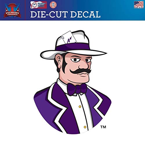 - Victory Tailgate Evansville University Purple Aces Die-Cut Vinyl Decal Logo 2(12 Inch)