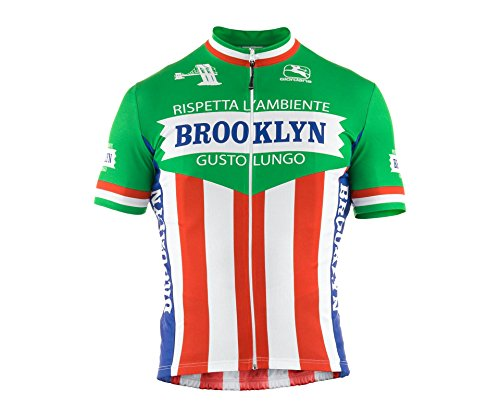 - Giordana 2015 Men's Team Brooklyn Short Sleeve Cycling Jersey, Italia, X-Large