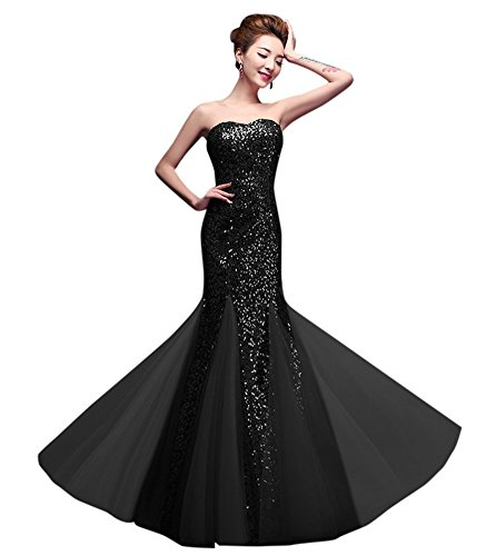 Kleid Schlauch Drasawee Damen Damen Schwarz Drasawee xq6Sg