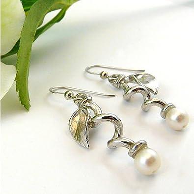 Vir Jewels Black Diamond Princess Cut Stud Earrings in .925 Sterling Silver