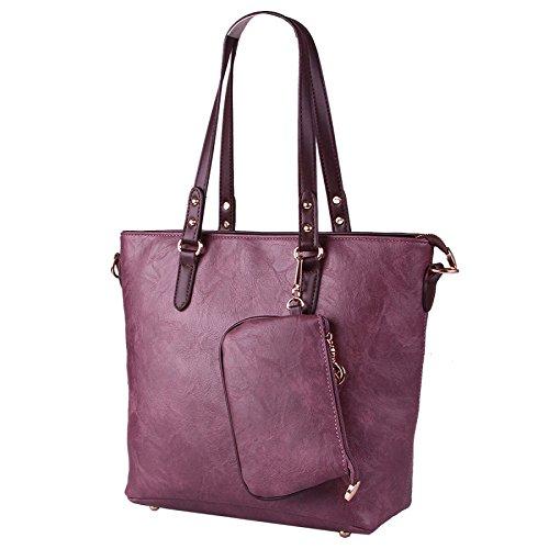 Sac épaule Purple à Main Décontractée Diagonale BAILIANG Féminine Mode épaule qS1Uw