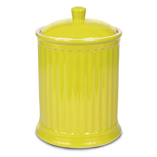 Omniware Simsbury Extra Large Yellow Ceramic 120 Ounce Cookie Jar
