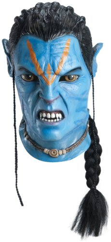 Rubie's Jake Sully Overhead Latex Deluxe Adult Mask (Avatar Masks)
