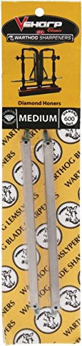 Warthog Classic I Replacement Diamond Hones,Medium,600 Grit,Set of 2 ()