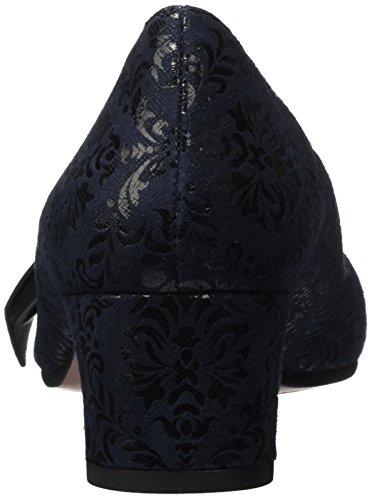 Snow Chantilli Escarpins Navy Navy Chie Negro Mihara Fermé Femme Bleu Bout maitai 1UZ4wZnq