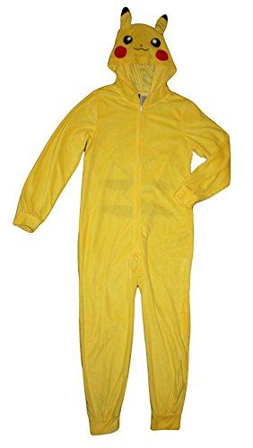 Pokemon-Pikachu-Big-Boys-Hooded-Blanket-Sleeper-Pajama