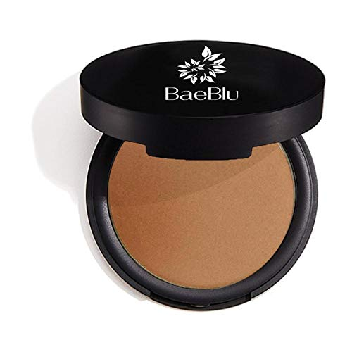 BaeBlu Organic Bronzer 100% Natural Matte Pressed Powder, Made in USA, Endless Summer