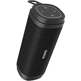 Bluetooth Speaker, Zamkol ZK306 Waterproof Bluetooth Speakers Portable Wireless & 30W Stereo Sound, with EQ Enhanced…