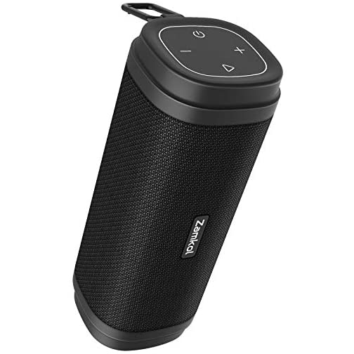 Bluetooth Speaker, Zamkol ZK306 Waterproof Bluetooth Speakers Portable Wireless & 30W Stereo Sound, with EQ Enhanced… |