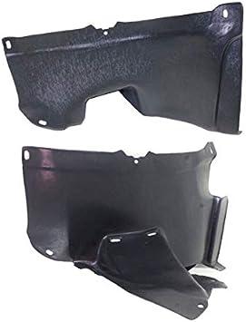 06-10 VW Passat Front Splash Shield Inner Fender Liner Panel Left Driver Side