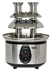 Total Chef WTF-43 Stainless-Steel Double-Tower Chocolate Fountain
