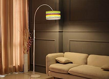 Lampade da terra lampada da terra per soggiorno con luci da pesca