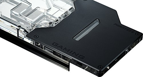 Phanteks PH-GB1080TiMS_BK01 GPU Full Water Block MSI Gaming RGB Lighting Black
