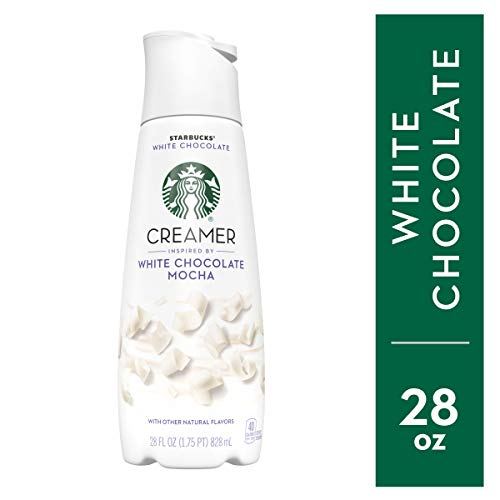 STARBUCKS White Chocolate Mocha Creamer 28 fl. oz. Bottle