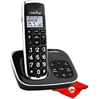 Clarity BT914 Severe Hearing Loss Cordless Amplified Phone With Circuit City Microfiber Cleaning Cloth
