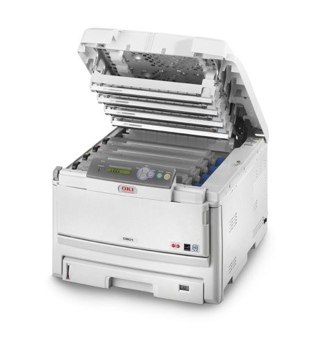 OKI C801n, 600 x 1200 dpi, 75000 páginas, 5000 páginas por ...