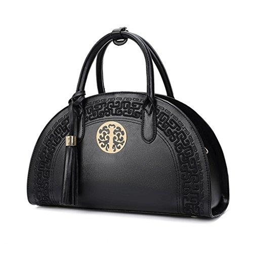 Large Black Package Married Bridal Handbag Shoulder Bag color Black Bag National Style Chinese Bag Bag Embroidery Diagonal Style Red 8O1TWO7g