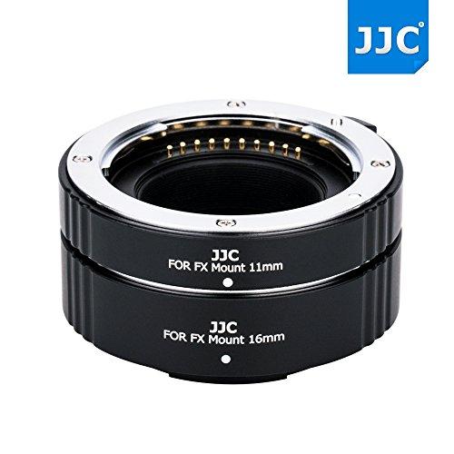 JW 11mm + 16mm Marco Automatic Extension Tubes Set for Fujifilm X Series Camera X-Pro2 X-Pro1 X-T2 X-T1 X-T20 X-T10 & Fujinon X Mount Lens XF 35mm F1.4 F2 / - 35 10 Marcos