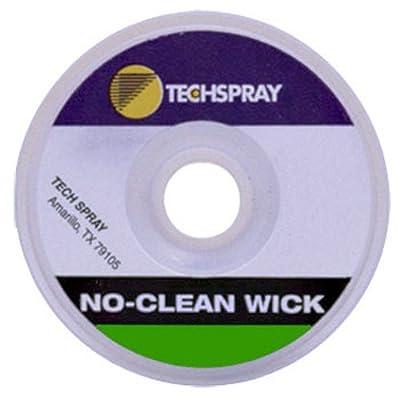 """Techspray 1816-50F No-Clean Desoldering Braid, .075"""", 50ft."""