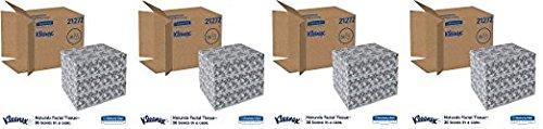 Kleenex 21272 Naturals Facial Tissue, 2-Ply, White, 95 Per Box (Case of 36 Boxes) (.4 CASES)