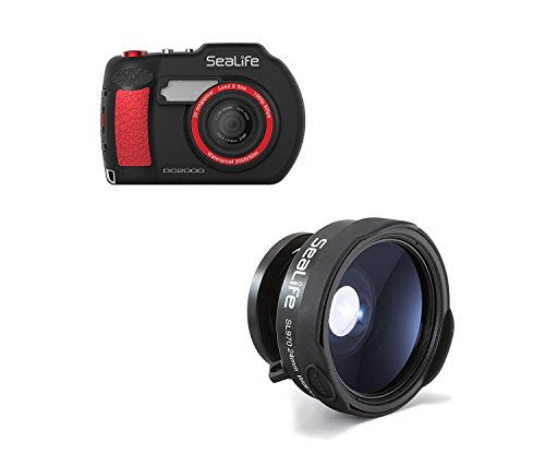 (SeaLife DC2000 HD Underwater Digital Camera with SL970 0.65x Wide Angle Conversion Lens)