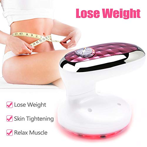 Weight Loss Machine Red Light Rechargeable 3 in 1 Fat Remover Machine for Skin Firming, Improve Blood Circulation, Fat Reduction on Waist Arm Leg and Hip