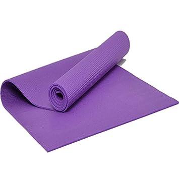 Ollt Calidad Antideslizante Yoga Mat Roll Up Pillates ...