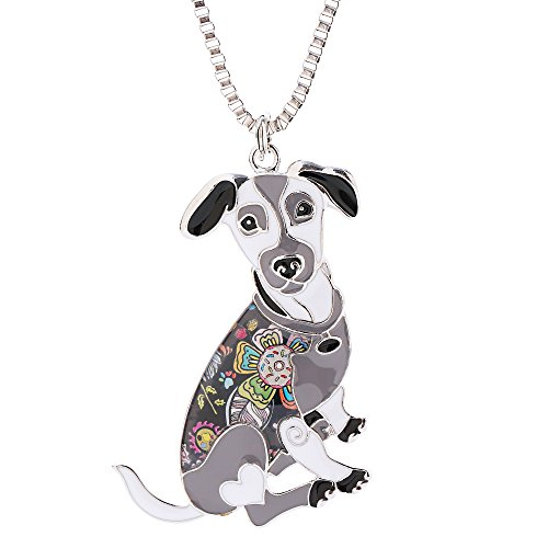 Necklace Russell Jack (Jack Russell Terrier Necklaces & Pendants for Women Cute Animal Pet Dog Jewelry Novelty Gifts)