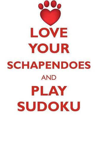 LOVE YOUR SCHAPENDOES AND PLAY SUDOKU SCHAPENDOES SUDOKU LEVEL 1 of 15 ebook