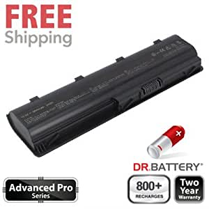Dr Battery Advanced Pro Series batería de repuesto para portátiles HP Pavilion g7-1263 (4400mah / 48wh) 800 ciclos de recarga 2 año de garantía.