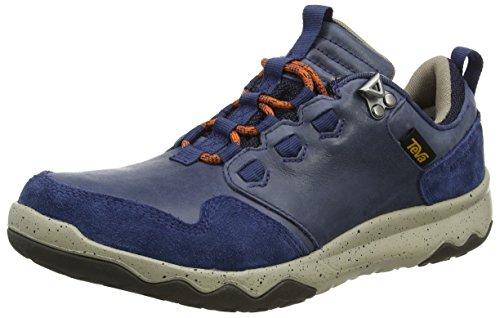 Teva Arrowood Lux Wp, Zapatos de Low Rise Senderismo para Hombre Azul (Navy)