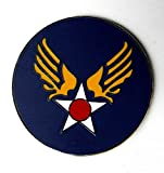 Quality Handcrafts - US Army AIR Force AIR Corps Large AF Lapel HAT PIN Badge 1.5 INCHES - Accessories for Clothes Decoration