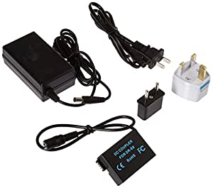 Polaroid AC Power Adapter Kit For Canon EOS T5i, T4i, T3i, T2i Digital Cameras (Canon ACK-E8/ACKE8 Replacement)