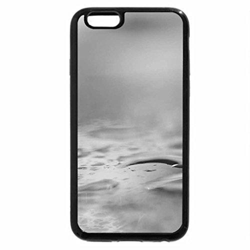 iPhone 6S Plus Case, iPhone 6 Plus Case (Black & White) - Daisies