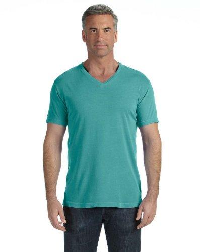 Comfort Colors V-Neck T-Shirt>S SEAFOAM C4099