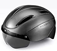 ROCKBROS Bike Helmet Cycling Helmet Road Mountain Bicycle Helmet CPSC Safety Standard with Detachable Magnetic
