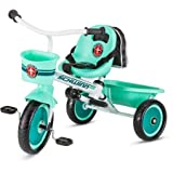 Schwinn S6771 Easy Steer Trike, Teal, 2 Modes Of Child Or Parent Control