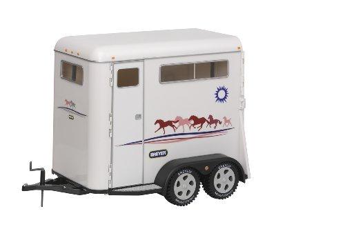 (Breyer B2615 Traditional 1:9 Scale 2 Horse Trailer by Breyer)
