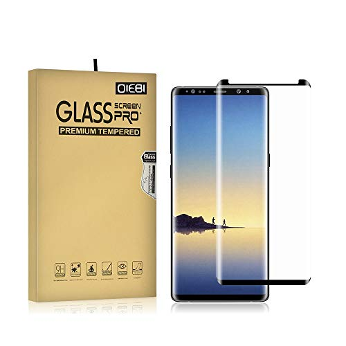Galaxy Note 9 Screen Protector, 2-Pack Temper Glass Screen Protector Compatible with Samsung Galaxy Note 9 9H Hardness Crystal Clear Scratch Resistant Bubble Free Easy Installation Screen Film