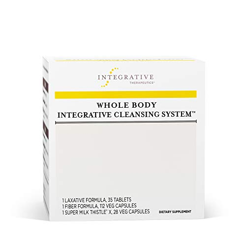 Integrative Therapeutics - Whole Body Integrative Cleansing System - 3 Product Kit for 2 Week Internal Cleanse - Promotes Detoxification of Body - 1 Kit (Best Whole Body Cleanse And Detox)