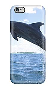 Nannette J. Arroyo's Shop Hot New Style Tpu 6 Plus Protective Case Cover/ Iphone Case - Dolphin Diving 1035661K31124898