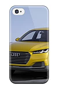 Hot Tpu Cover Case For Iphone/ 4/4s Case Cover Skin - Audi Concept 15