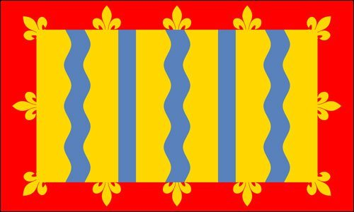 MAGNET Cambridgeshire County Flag (decal england) - 1812 Rug