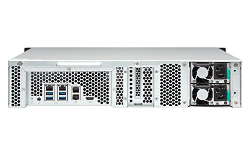 Qnap TS-853BU-RP-8G-US 2U 8-bay NAS/iSCSI IP-SAN,10GbE-ready, PCIe Expansion Slot, Redundant PSU by QNAP (Image #3)