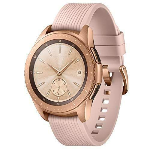 Samsung Galaxy Watch (42mm) Smartwatch (Bluetooth) Android/iOS Compatible -SM-R810 (Rose Gold) by Samsung