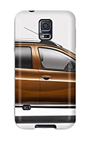 Galaxy S5 Case Cover - Slim Fit Tpu Protector Shock Absorbent Case (renault Duster 12)