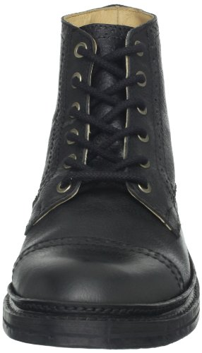 FRYE Mens Jamie Brogue Lace-Up Boot Black - 87366 BeWy3Mb