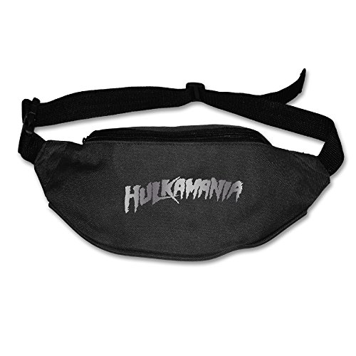 Hulkamania Platinum Logo Running Waist Pack Bag - Nitro Thunder